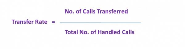 Transfer rate formula