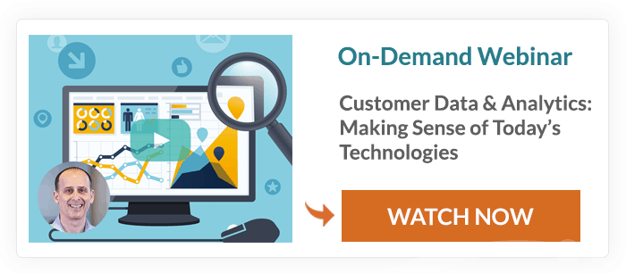 Customer Data Analytics Technologies On-Demand Webinar