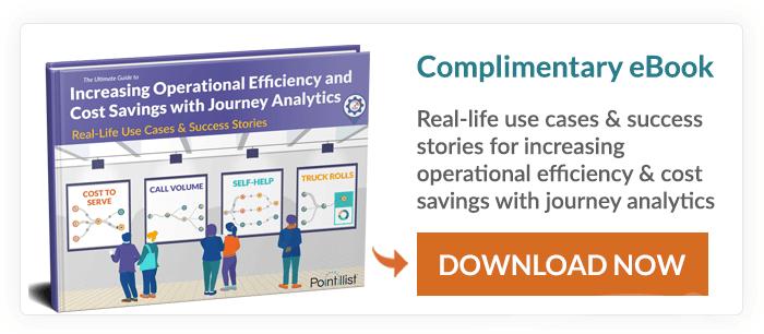 improve operational efficiency - journey analytics use case