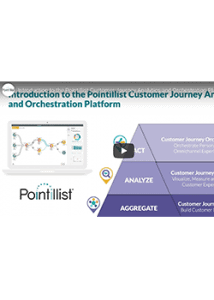 demo video of pointillist's customer journey mgmt software