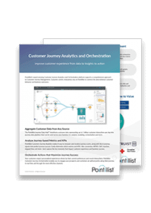 customer journey analytics and orchestration product sheet