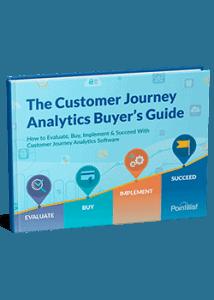 customer journey analytics buyer's guide ebook cover