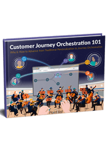 customer journey orchestration ebook cover